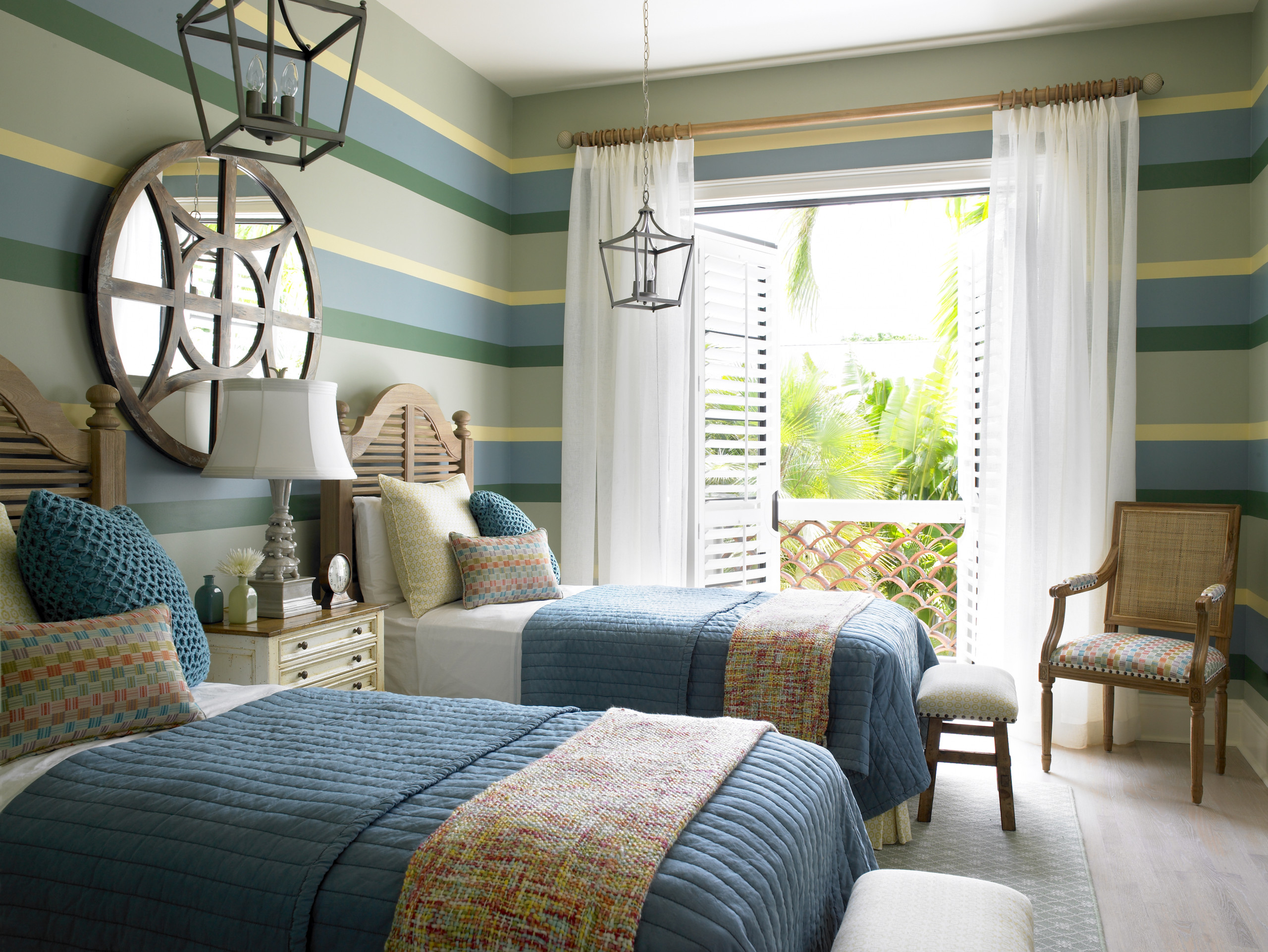 Cottage Bedroom Design custom bedroom designs | the tailored pillow of south florida