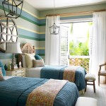 Coastal cottage Twin-Bedroom Design | Delray Beach, FL
