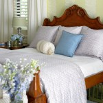 Romantic French Country Designed Master Bedroom of Delray Beach | The Tailored Pillow
