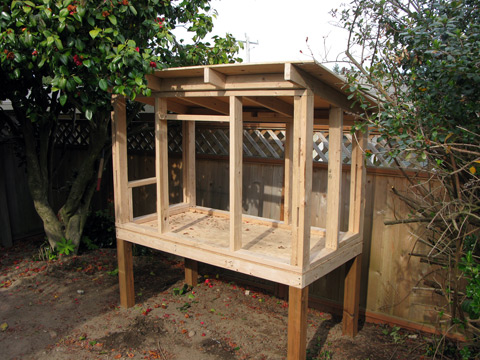 Our Coop Design Has Two Doors: A Big U201chuman Dooru201d In The Front For Easy  Access, Egg Gathering, Ventilation, And Cleaning, And A Chicken Door On The  Left ...