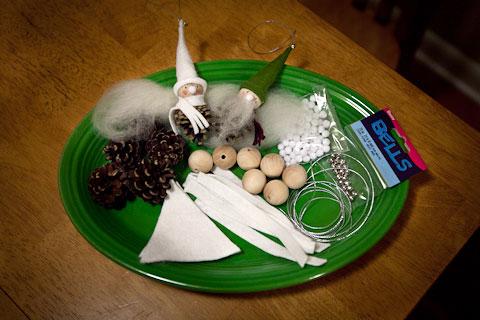 Pine Cone Gnome Materials