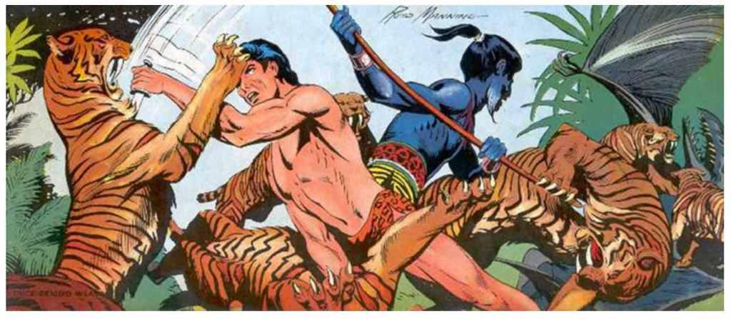 Tarzan Comics Hogarth