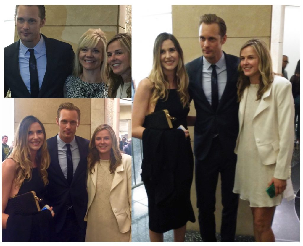 Skarsgard and Burroughs Girls
