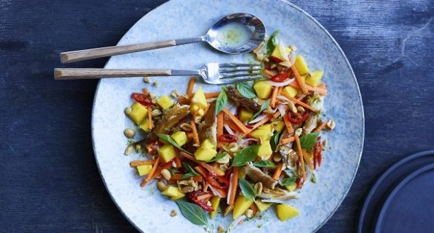 Smoked Mackerel Salad Recipe