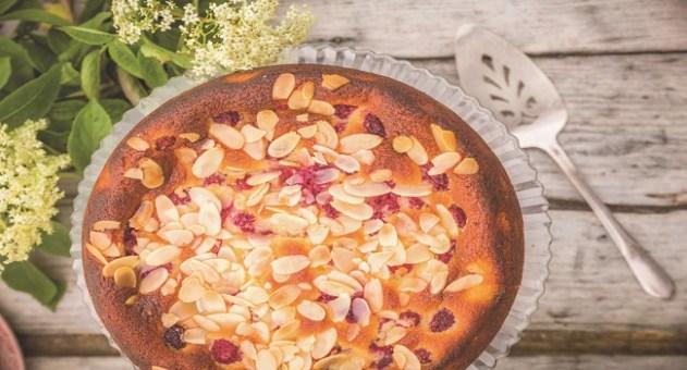 Elderflower Raspberry Cake Recipe