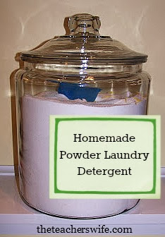 Homemade Powder Laundry Detergent