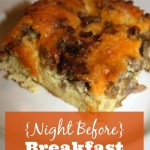 {Night Before} Breakfast Casserole