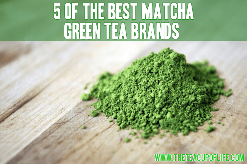 matcha green tea brands