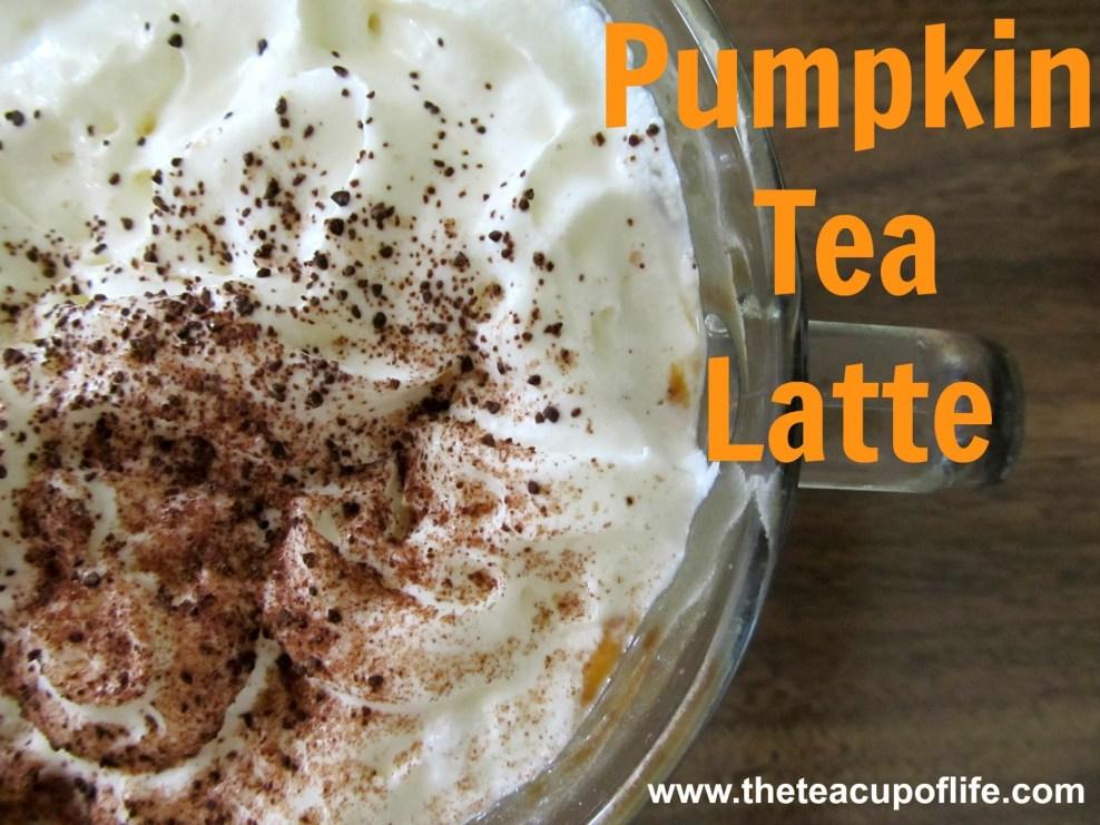 Pumpkin Tea Latte