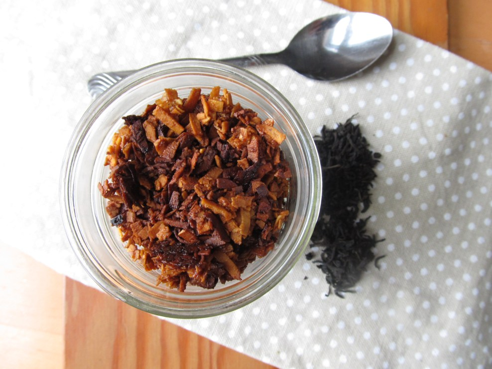 Lapsang Souchong Coconut Bacon