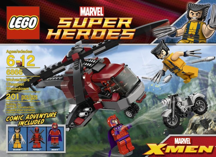 LEGO Wolverine Chopper Showdown 6866