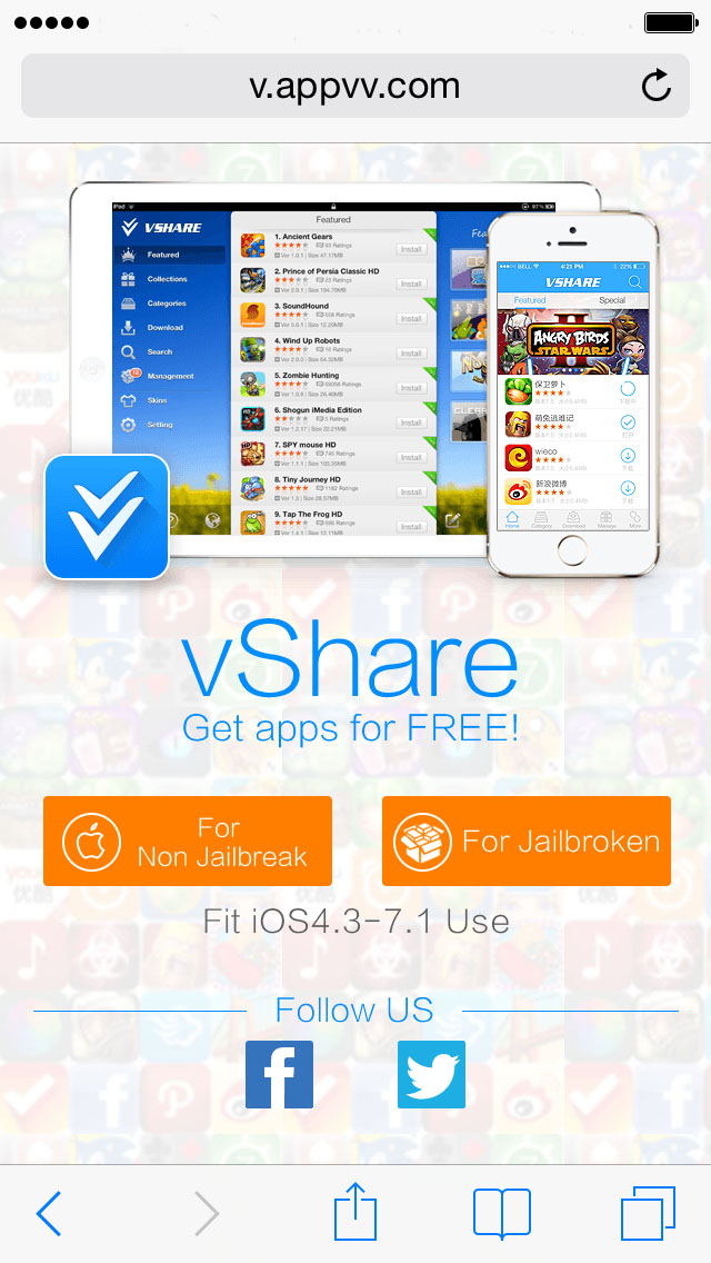 how to fix vshare not installing apps no jailbreak