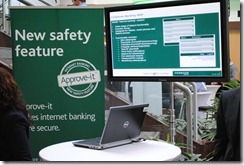 Secure banking app
