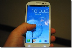 Samsung Galaxy SIII - hands on review and tips