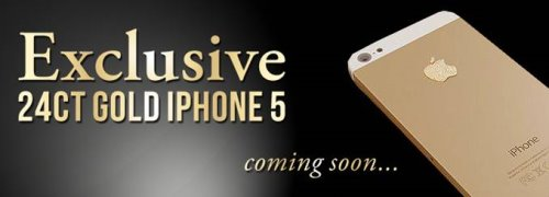 24ct Gold iPhone by Stuart Hughes