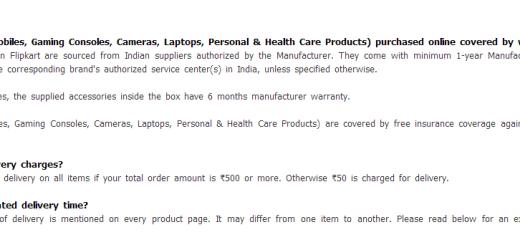 Flipkart_Shipping