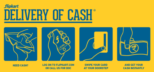 Flipkart Delivery of Cash
