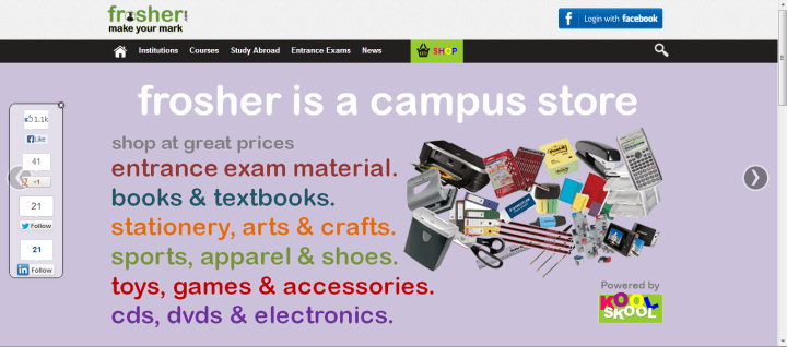 frosher homepage
