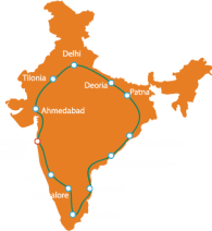 Yatra-Map