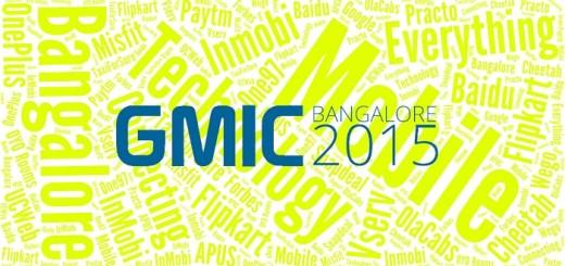 GMIC 2015 Bangalore