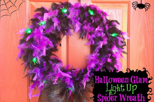lightupspiderwreath