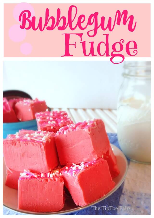 Have a sweet #treat with Bubblegum Fudge! #food #foodie #dessert