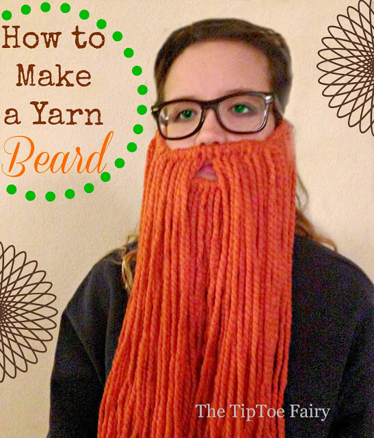 How to Make a Yarn Beard