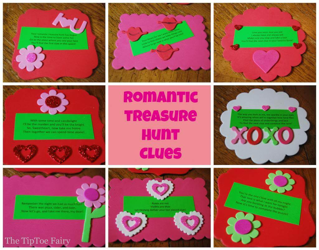 Date Night with a Romantic Treasure Hunt