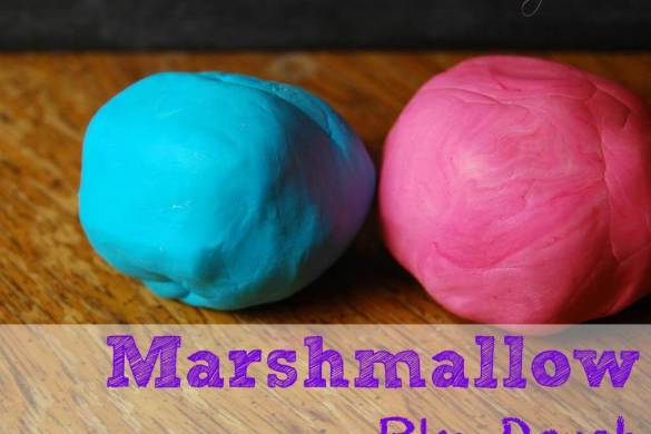 marshmallow-play-dough