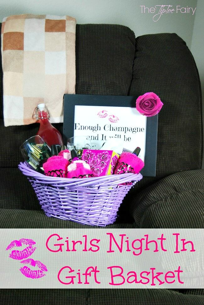 Girls Night In Gift Basket