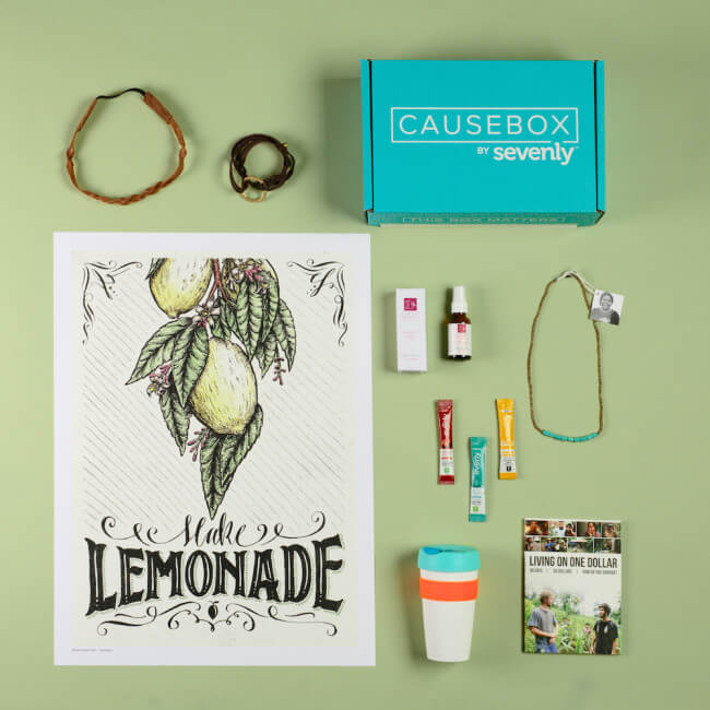 Unboxing of the CAUSEBOX03 #CAUSEBOX03 #ThisBoxMatters #ad @sevenly | The TipToe Fairy