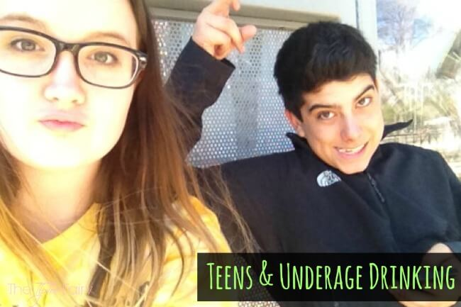 How to talk to Teens About Underage Drinking #ABFamilyTalk #IC #ad | The TipToe Fairy