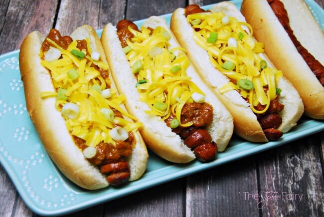 Chili Cheese Spiral Dogs #WhatAGrillWants [ad] | The TipToe Fairy