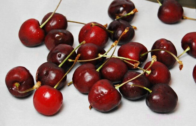 Cherry Bombs from Cups Sticks & Nibbles by Nicole Meyer - a party and entertaining cookbook #ad   The TipToe Fairy