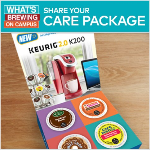 College Coffee Bar Care Package - #Walmart #WhatsBrewingOnCampus #ad | The TipToe Fairy