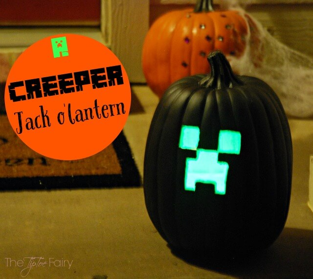 Have a Minecraft Halloween - costumes, accessories, and more! #ad #GameOnTheGo | The TipToe Fairy
