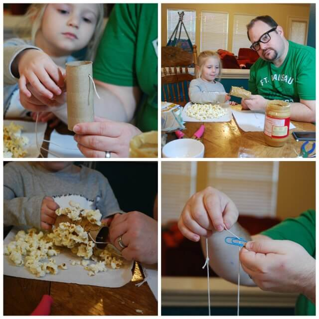 What can you do with paperclips and popcorn? Check it out! #ad #FunSideOut | The TipToe Fairy