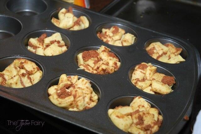 Monkey Muffin Cinnamon Rolls @Pillsbury #ad #food #foodie #yum