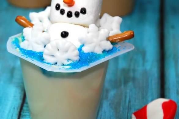 snowman-label