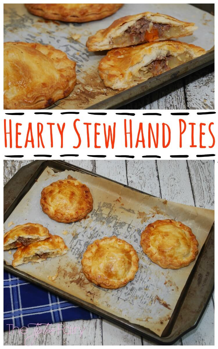 #SundaySupper - Hearty Stew Hand Pies
