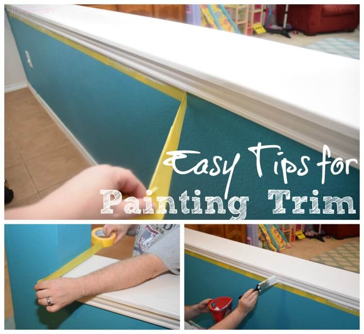 FIVE Easy Tips for Painting Trim