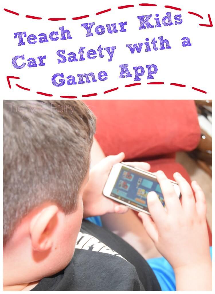Teach kids car safety with #DashboardBlitz - a fun game app! #ad #kids #safety