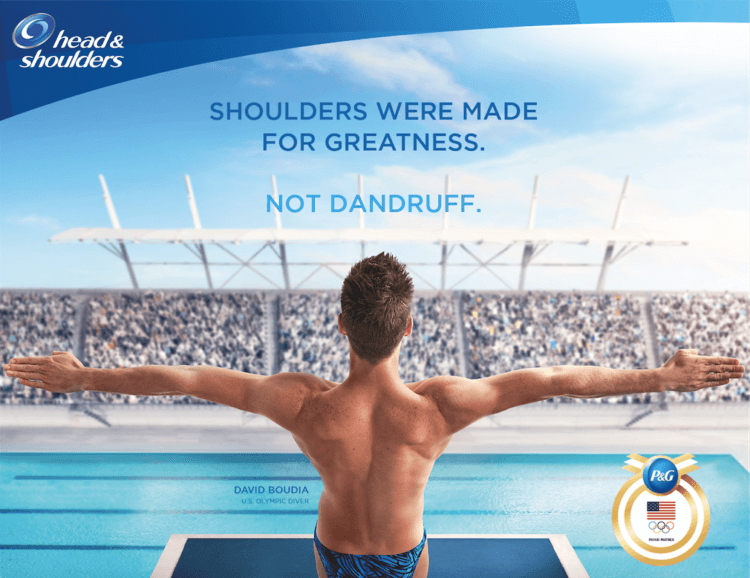 Support Team USA with P&G products @ Walmart like @HeadShoulders #ad #LetsPowerTheirDreams