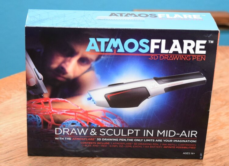 Come check out a fun toy for teens with @atmosflare3d! #funwith3d #3dpen #ad