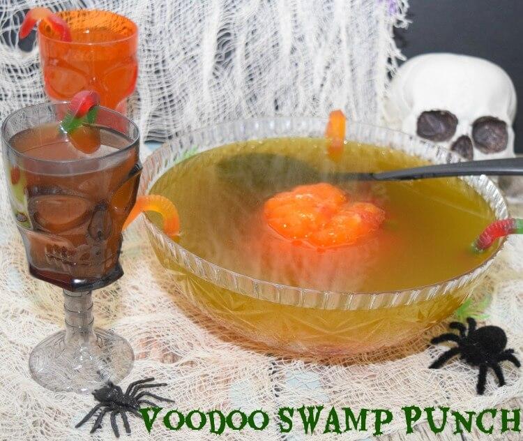 Voodoo Swam Punch for your #Halloween parrty! #drink #recipe