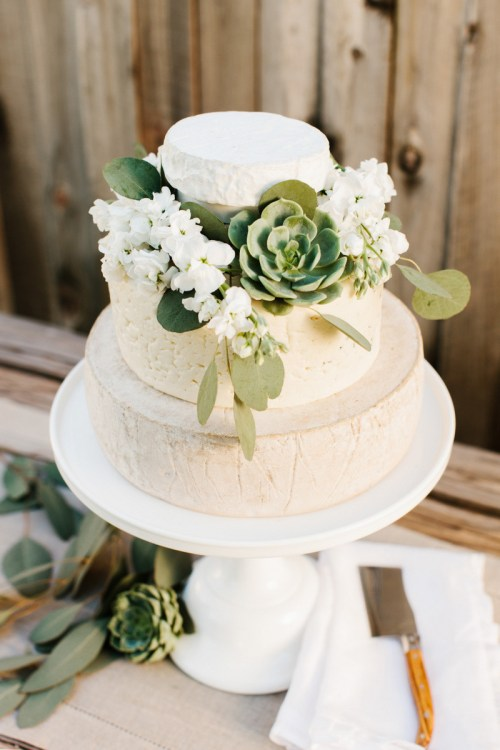 Medium Of Cheesecake Wedding Cake