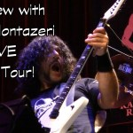 MARZI MONTAZERI Interview - Washburn Priestess Guitar LIVE @ Randy Rhoads Remembered  Tour