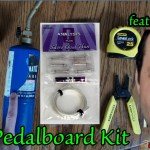No Blowtorch DIY Pedalboard Kit - Analysis Plus Silver Oval Thin Kit by Trushack