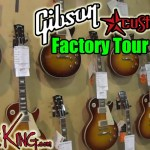GIBSON FACTORY TOUR - Vid 1 - Custom Shop - Summer NAMM 2016