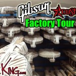 GIBSON FACTORY TOUR - Vid 3 - Custom Shop - Summer NAMM 2016